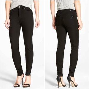 DL1961 Nina High Rise Skinny Jeans Black 30